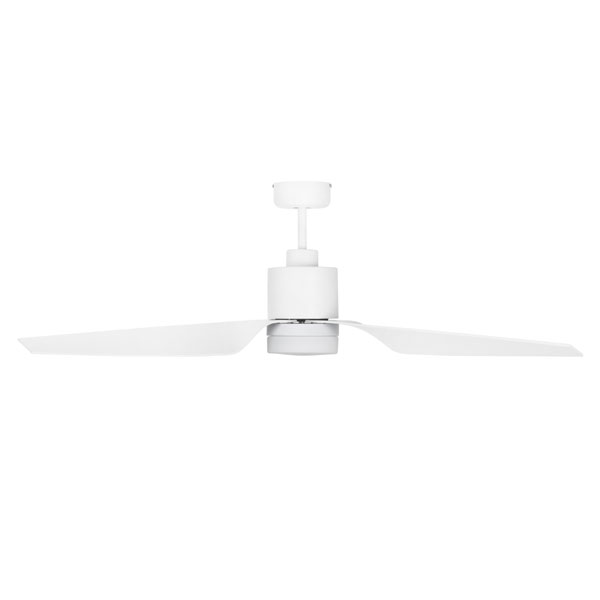 Cayman Dc Ceiling Fan 52 Quot Led Light Amp Remote White