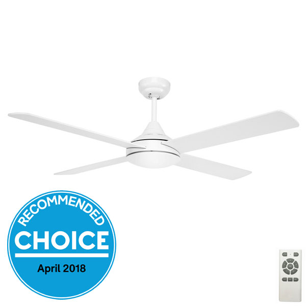 Eco Silent Dc Ceiling Fan With Remote By Fanco White 42 Quot