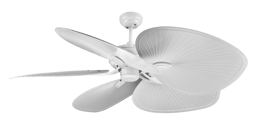 Havana ceiling fan by ventair in white 52 tropical style white havana ceiling fans aloadofball Image collections