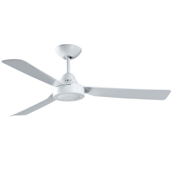 Manzer ii ceiling fan 48 white wall control ceiling fans warehouse manzer ii ceiling fan in white wall control mozeypictures Choice Image