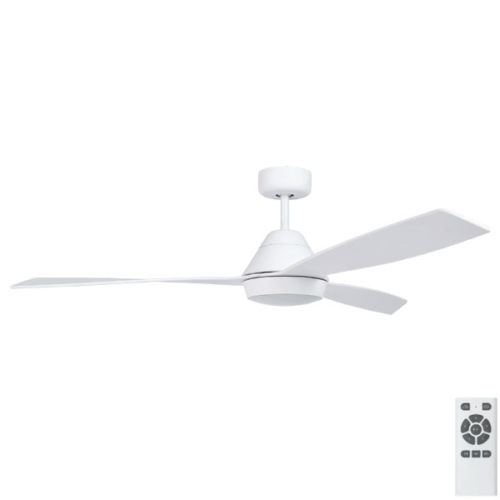 eco breeze white ceilign fan with light