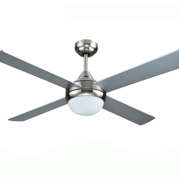 Azure Ceiling Fan With Light Brushed Nickel 48 By Hunter Pacific