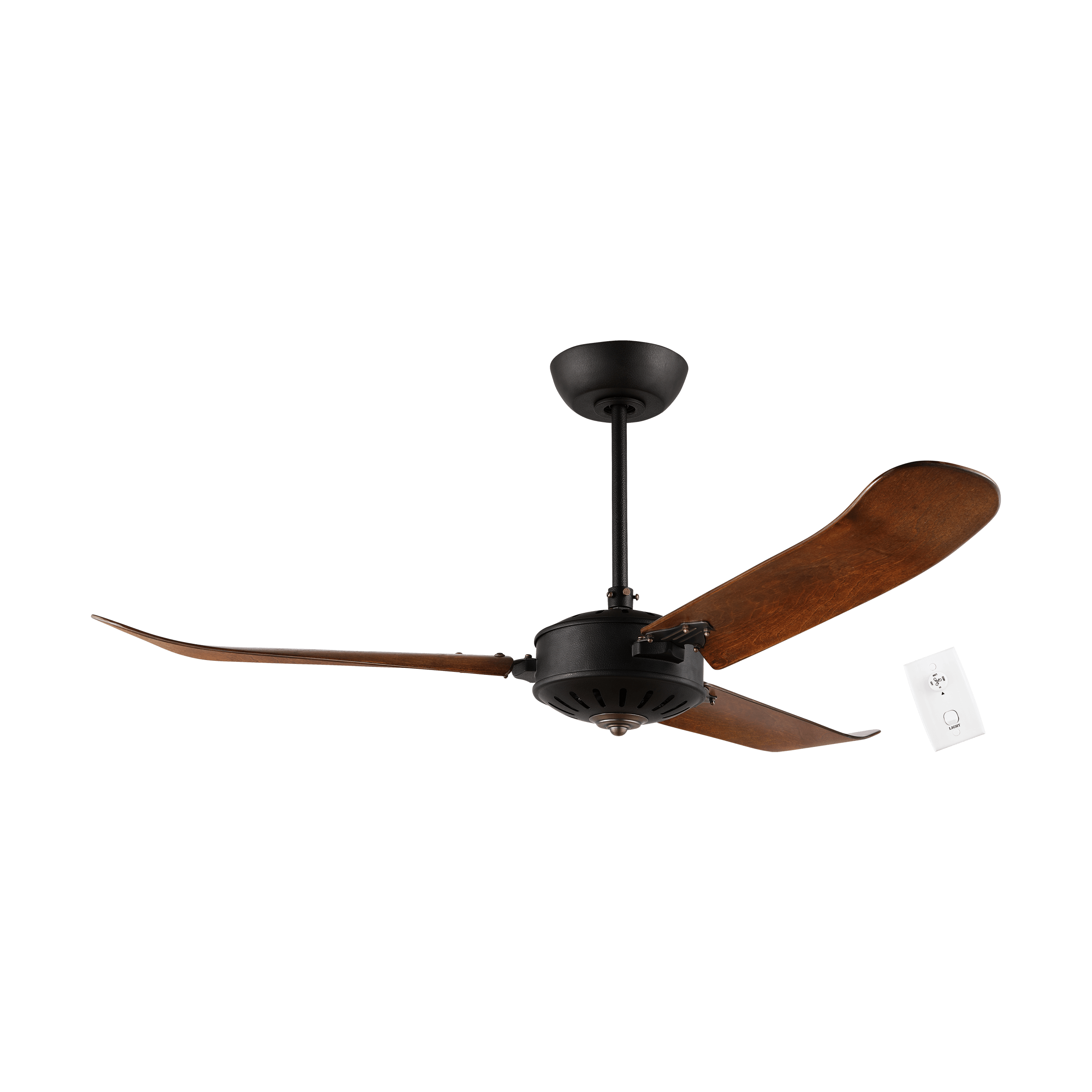 Dark Distressed Oak Hoi An Ceiling Fan by Eglo | Ceilingfanswarehouse