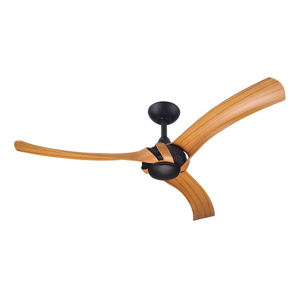 Extremely Large Ceiling Fan: Hunter Pacific Aeroforce 2 Ceiling Fan Matte Black Motor