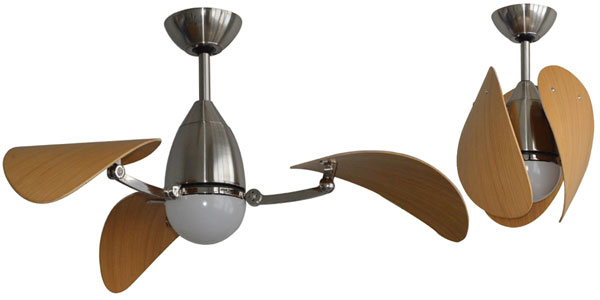 Vampire Dc Ceiling Fan With Retractable Blades 38 Quot Mva1043bbr