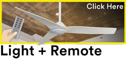 Ceiling Fans with light and remote Australia