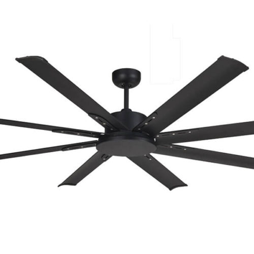 Albatross Mini DC Ceiling Fan Black Motor and blades