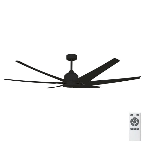 Brilliant Hercules Dc Ceiling Fan With Abs Blades 82 Quot Satin Nickel