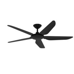 storm dc ceiling fan black