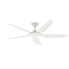 white storm dc ceiling fan