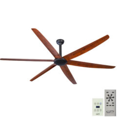 natural oak big fan with wall control
