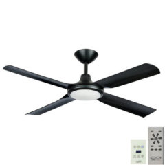 next creation dc ceiling fan wall control led black