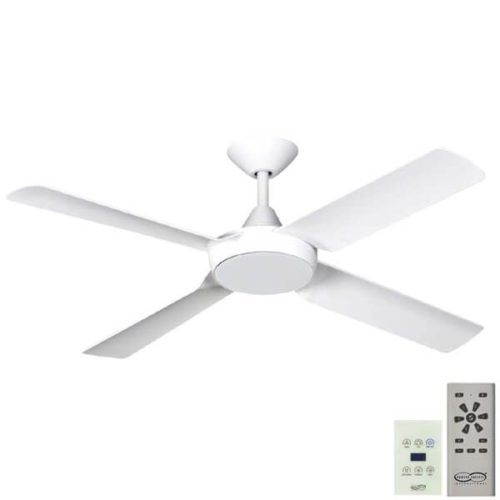 New Image DC Ceiling Fan with Wall Control & LED White